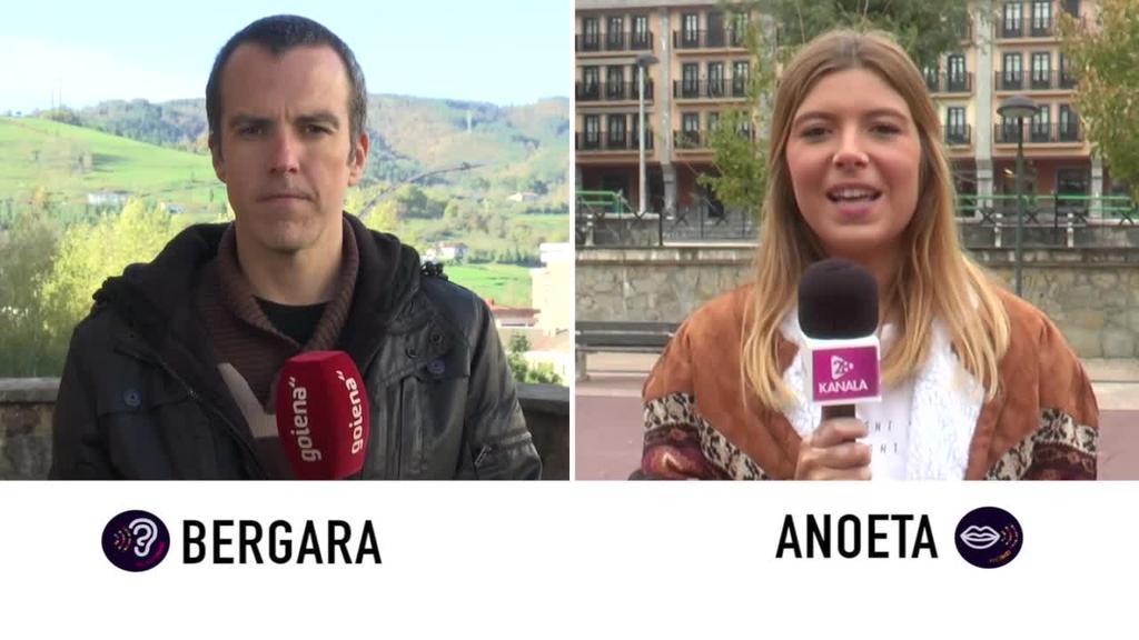 Euskaraldia - Anoeta eta Bergara