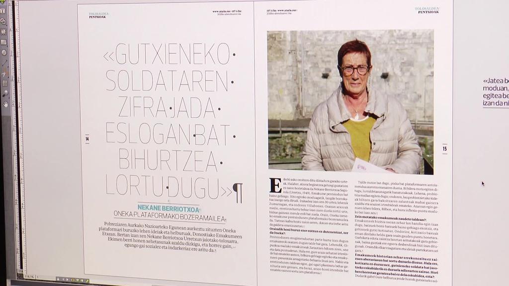 """Oneka plataforma eta """"Laida Pilota"""" ikuskizuna dira biharko Ataria aldizkariaren osagai nagusiak"""