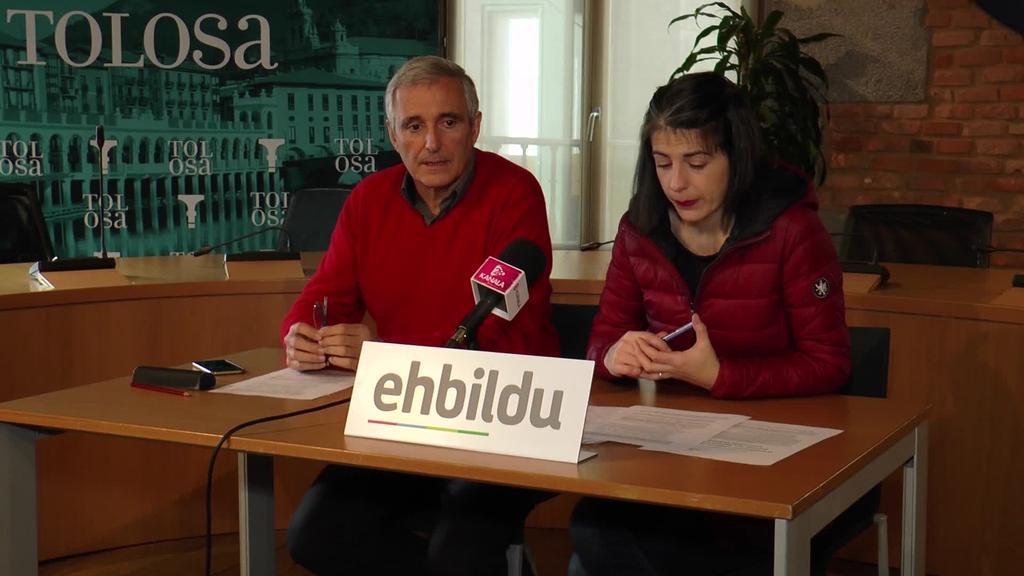65 urtetik gorako tolosarren pentsioak duintzeko diru  laguntza sortzea proposatu du EH Bilduk