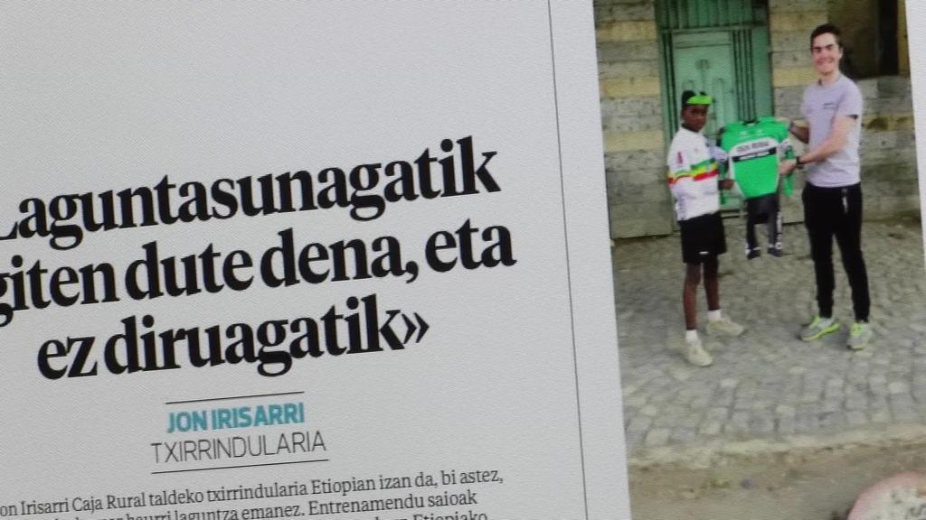 Beste hainbat gaien artean, Etiopiara eramango  gaitu aste honetako astekariak