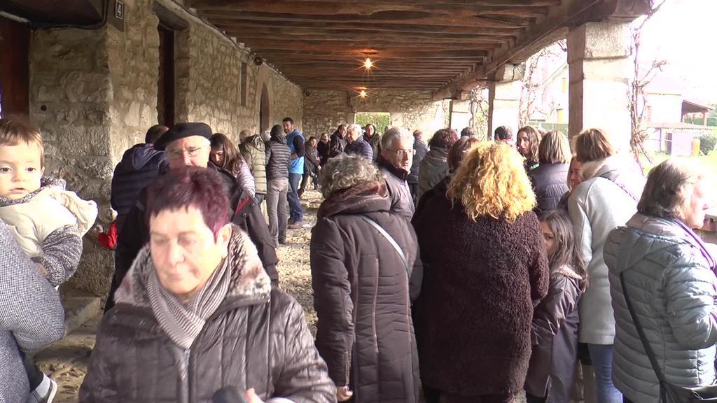San Blas egunean asko izan ziren usadio zaharrei eutsi zietenak