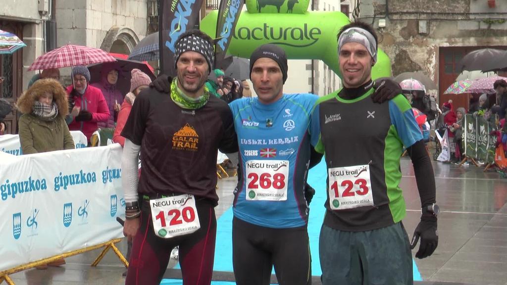 Hassan Ait Chaou-k eta Sarah Ugartek  irabazi dute Negu Trail lasterketa