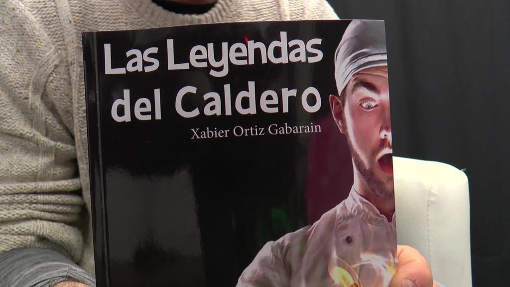 """Xabier Ortiz Gabarainek """"Las leyendas del caldero""""  liburua aurkeztuko du larunbatean Tolosan"""