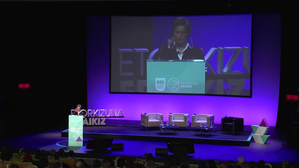 """Gaur eman zaio hasiera """"Feminismoa 4.0: Berdintasuna,  gizartea eta etorkizuna"""" kongresuari"""