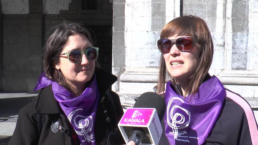 Tolosaldeko Asanblada Feministak antolatuta, bizikleta  martxa egin dute
