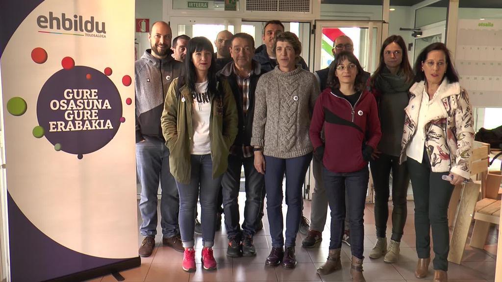 Osasun kudeaketa publikoaren alde lanean jarraitzeko  borondate irmoa erakutsi du EH Bilduk