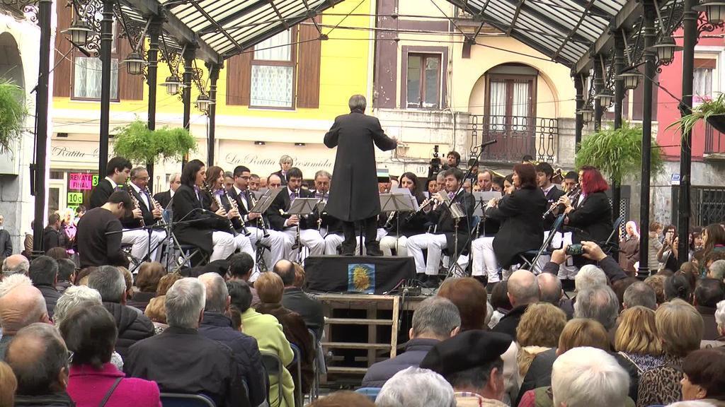 Tolosako Musika Bandaren Iñauterietako kontzertua