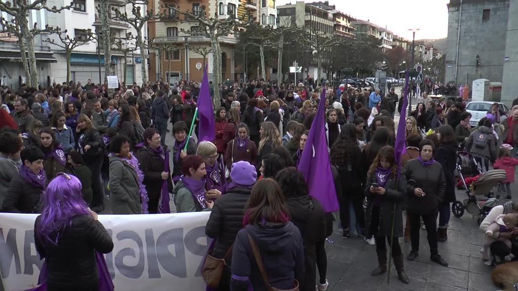 Greba feminista jendetsu eta arrakastatsua Tolosaldeko Asanblada Feministaren hitzetan