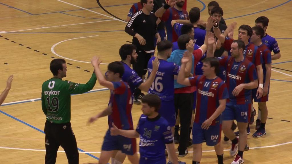 Tolosa Eskubaloiak Egiaren aurka irabazita, igoera fasea bermatu du