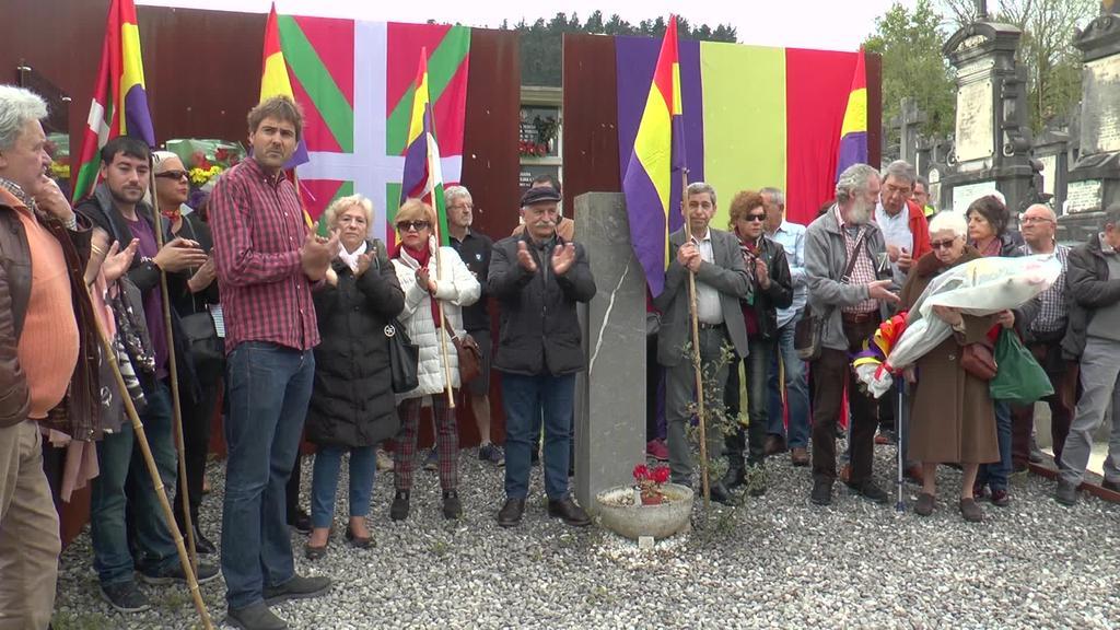 Tolosako Errepublikaren aldeko elkarteak  80. urteurreneko omenaldia egin zuen