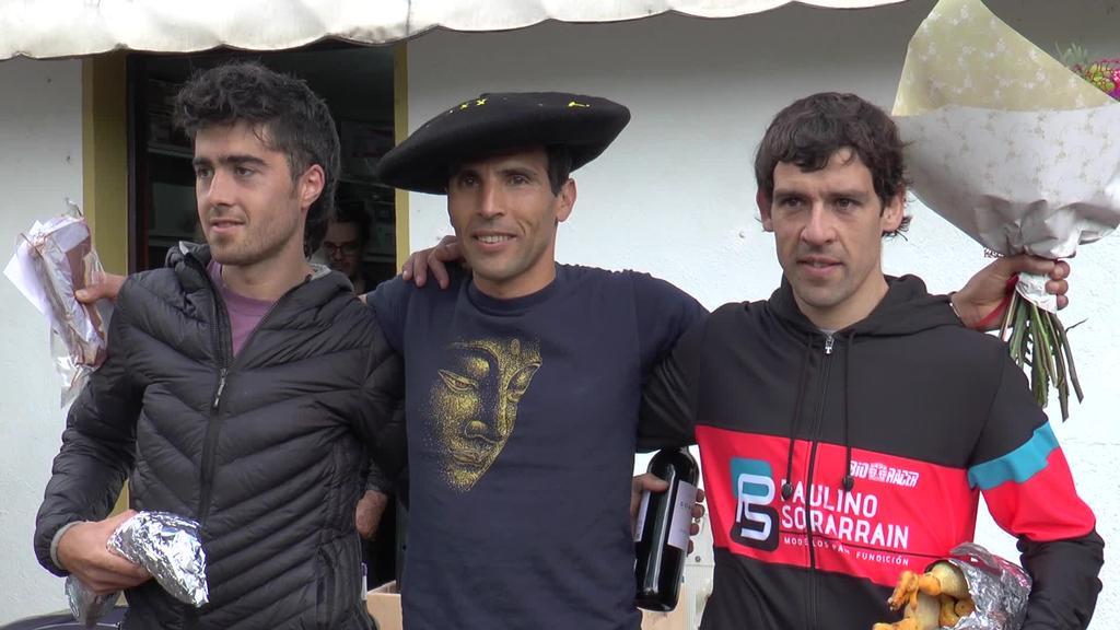 Hassan Ait Chaou eta Maialen Gurrutxaga izan dira azkarrenak Loatzoko igoeran