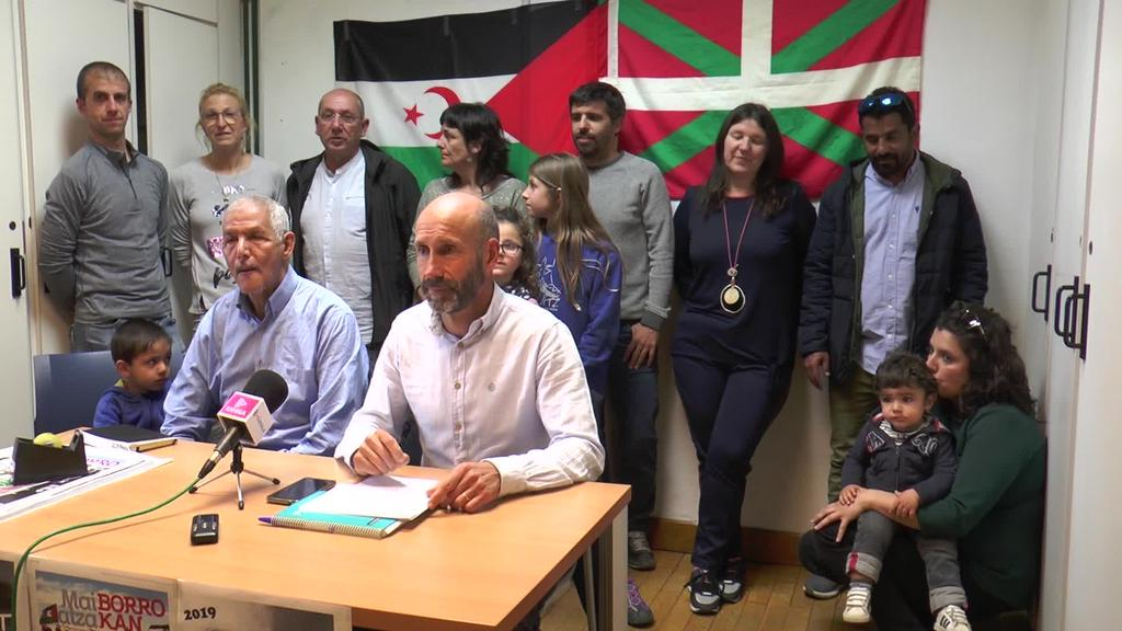 Maiatza Borrokan ekimena aurkeztu du Tolosaldea Sahararekin erakundeak