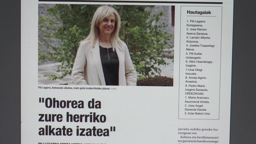 Amasa-Villabona eta Asteasuko alkategaiak  elkarrizketatu dituzte Aiurriko hamaboskarian