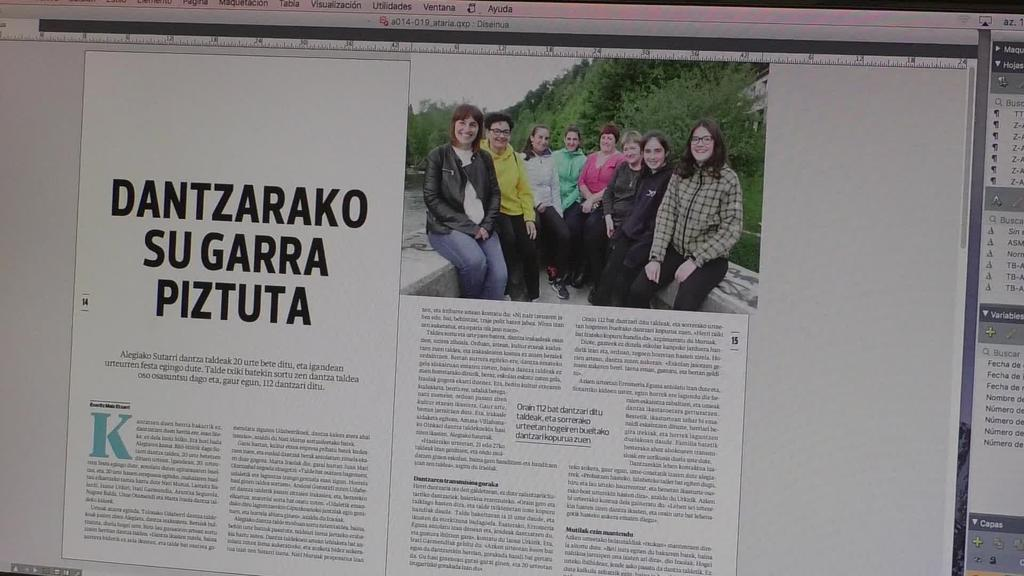 Sutarri dantza taldea eta Postal kolekzionistak musika taldea izango dira Ataria aldizkariko protagonista