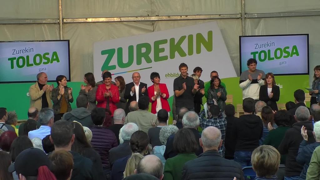 EH Bilduk ekitaldi nazionala ospatu zuen Tolosan