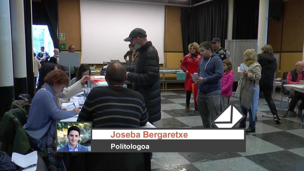 Joseba Bergaretxe politologoarekin aztertu ditu hauteskunde emaitzak 28 Kanalak