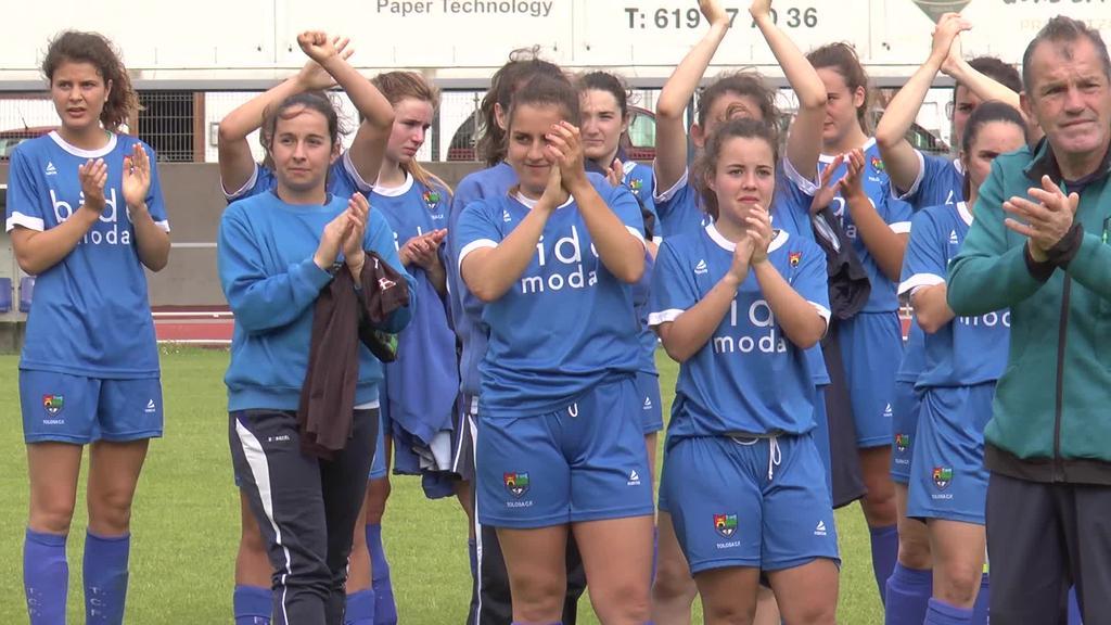 Euskal Kopako finalaren atarian geratu da  Tolosa C.F.