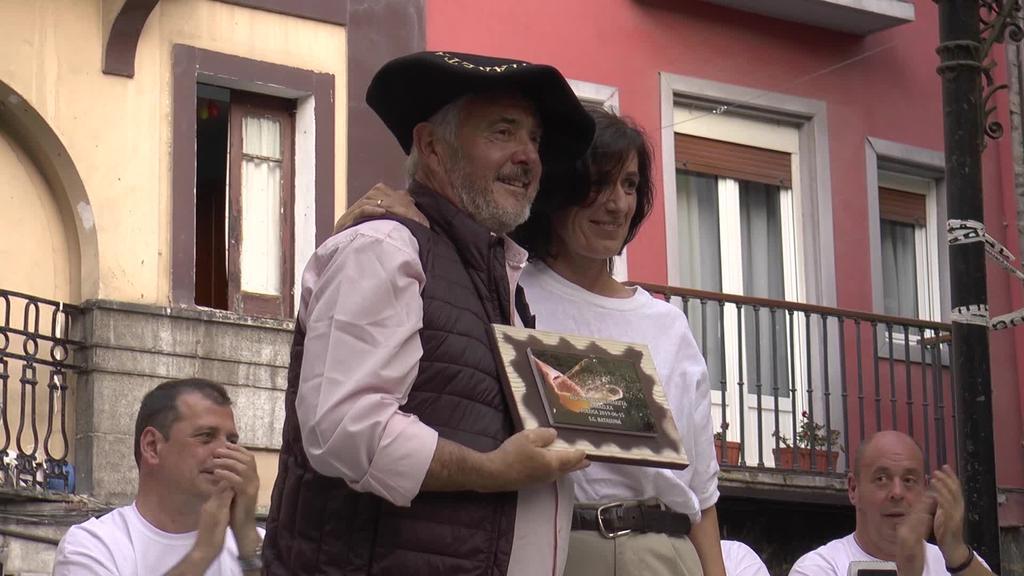 Batasuna Elkartearen San Joan saria Herrera sagardoak eraman zuen