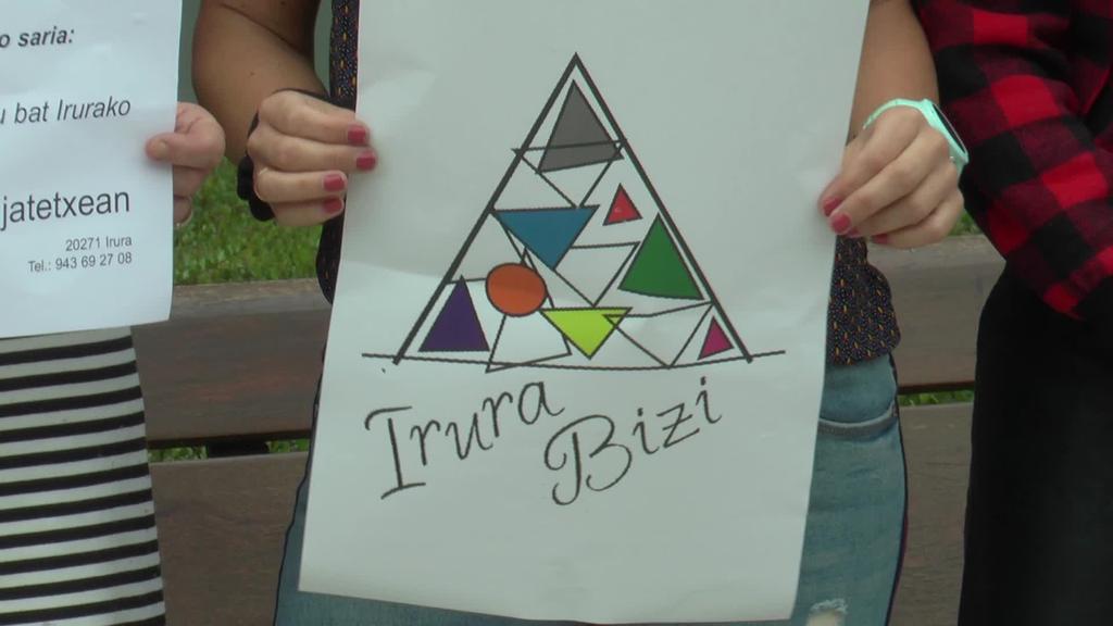 Irura Biziren logoa Ainhoa Ugaldek eginikoa izango  da