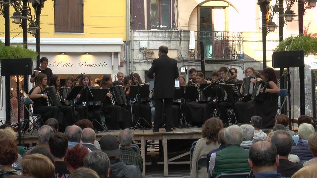 Isidro Larrañaga Akordeoi Orkestraren kontzertua