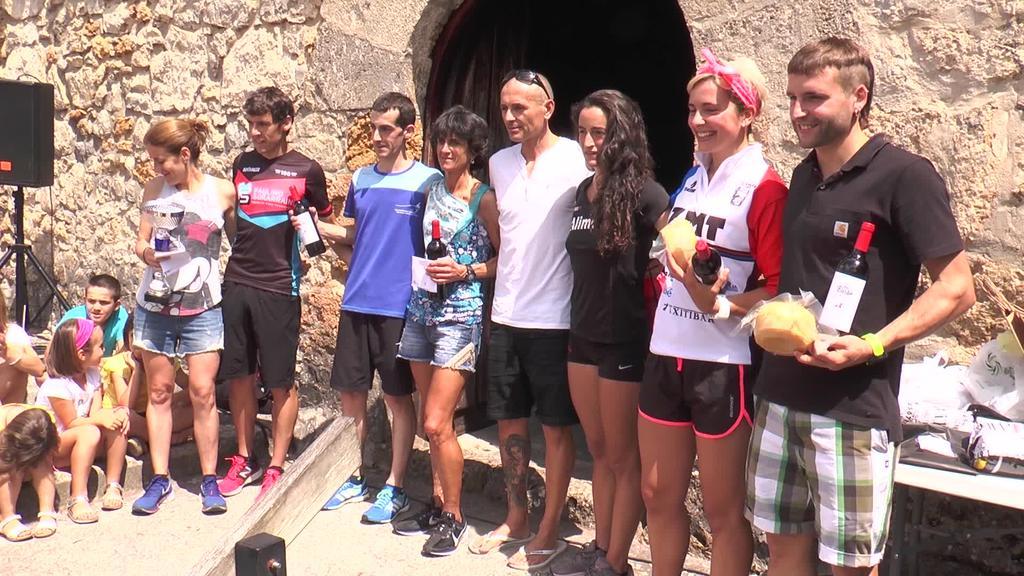 Aitor Regillaga eta Izaro Rubio garaile Santamañako  kros igoeran