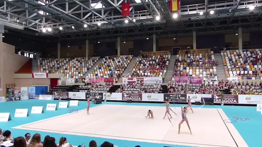 Tolosa C.F.-ko junior eta lehen mailako gimnastek  garaipena lortu dute Espainiko Kopan