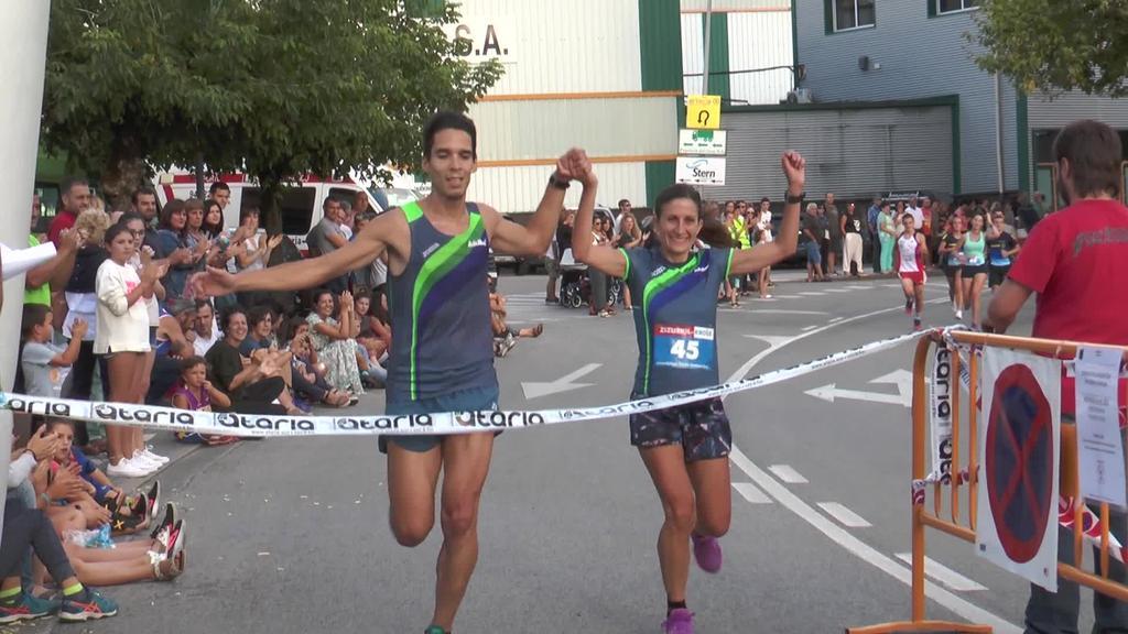 Xabier Lukinek eta Elena Silvestrek irabazi dute Zizurkilgo Kros Mistoa