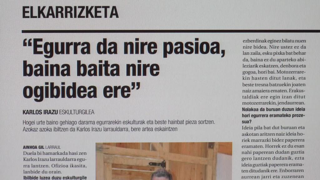 Karlos Irazu eta Gipuzkoako Bertsolari Txapelketa beste hainbat gaien artean, Aiurriren hamaboskarian