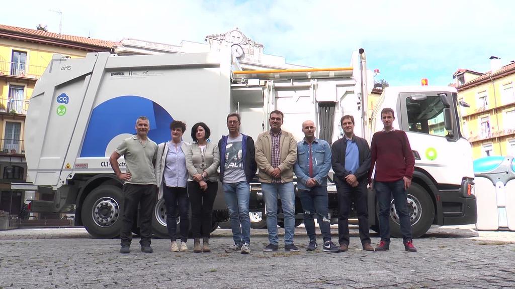 Tolosaldeko Mankomunitateak kamioi flota berria du