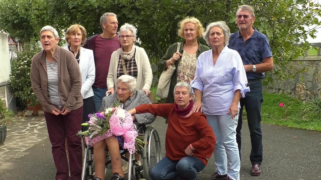 Margarita Eizmendik 100 urte bete ditu