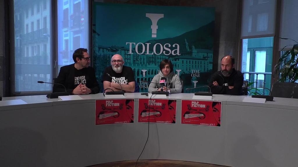 Bang Bang Tolosa egitasmoa antolatu dute larunbaterako Leidor aretoan