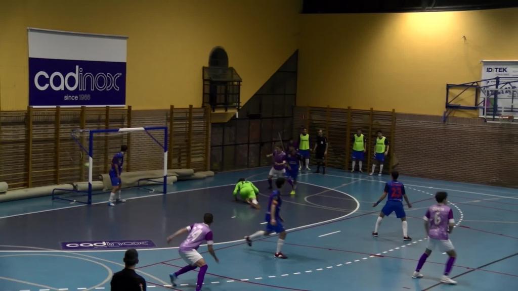 Lauburu Ibarra - Colo Colo Zaragoza. Errege Kopako kanporaketa