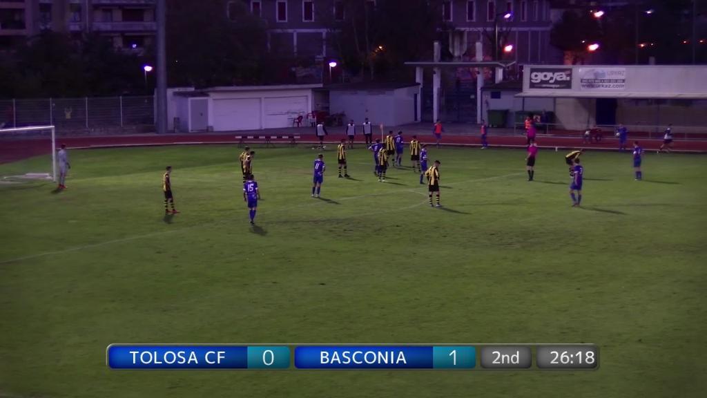Tolosa CF - Basconia