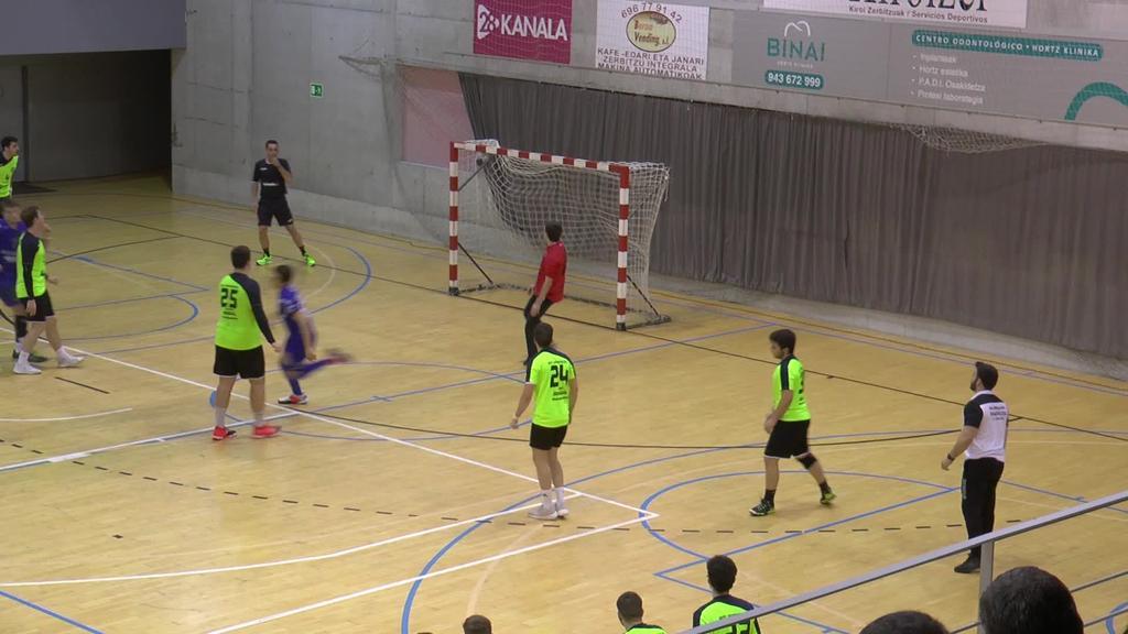 Dominicos Zaragozak merezimenduz irabazi dio Tolosa Eskubaloiari