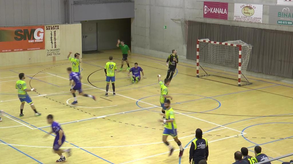 Bolada txarrari amaiera eman dio Tolosa Eskubaloiak Barakaldori irabazita (31-23)