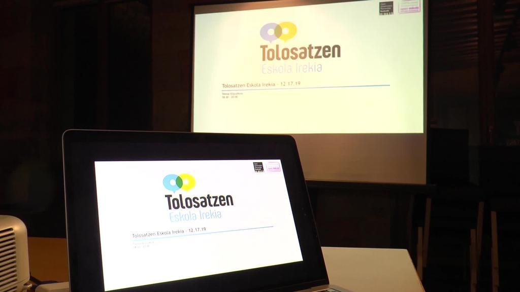 Tolosatzen Eskola irekia programa apirilera aurreratu da eta online egingo da