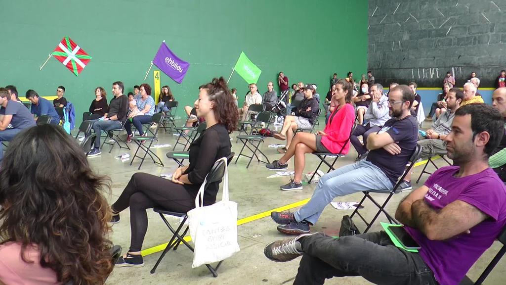 Anoetan egin du EH Bilduk hauteskunde kanpainako eskualdeko lehen ekitaldia