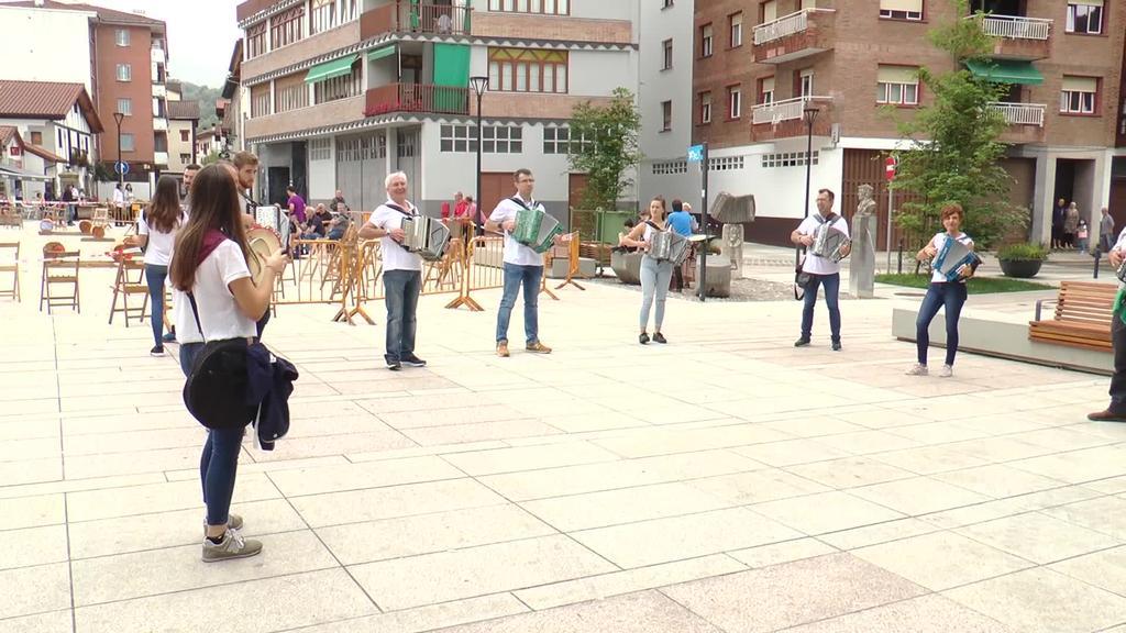 Herriko musikariek alaitu dute San Pedro eguna