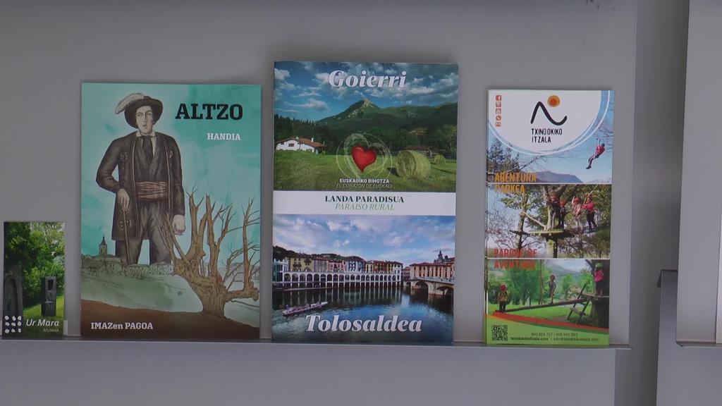 Goierri-Tolosaldea gida turistiko berritua bisitarien eskura dago