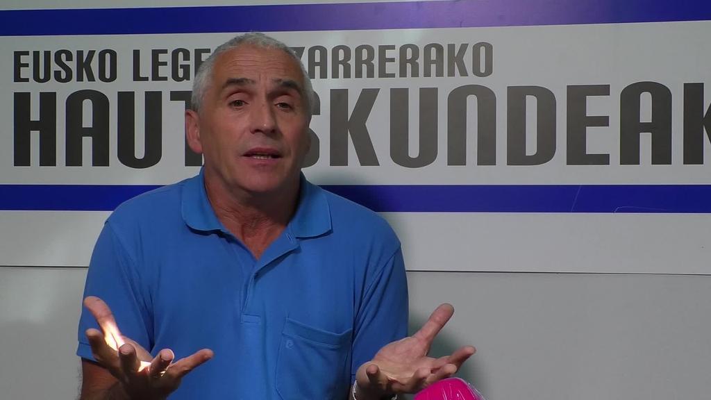 """Joxe Mari Villanueva: """"Emaitza hobeak espero genituen""""."""