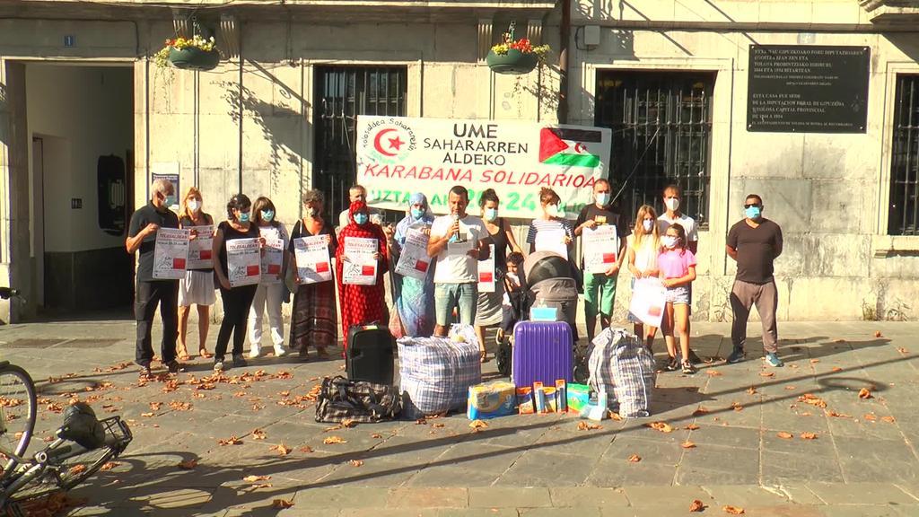 Haur sahararrei laguntza emateko, karabana solidarioa antolatu dute uztailaren 20tik 24ra bitartean