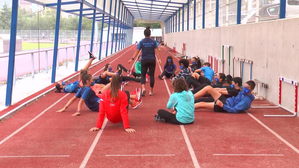 Sei hilabeteko etena saihesteko atletismo kanpusa  antolatu du Tolosa CFk
