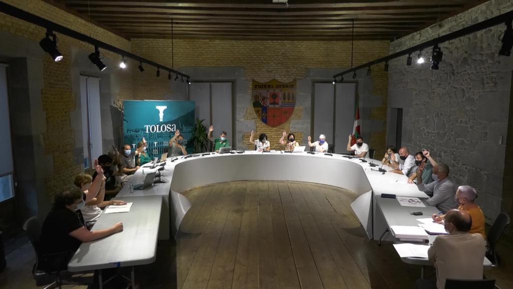 Tolosako Udalaren Osoko Bilkura 2020-07-30
