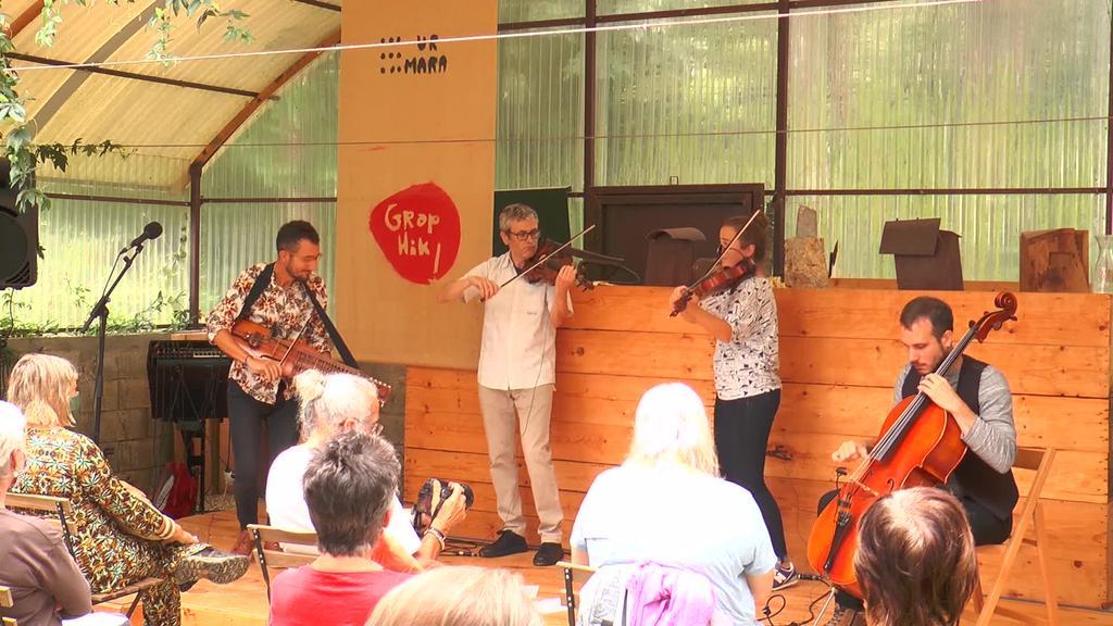 Alos Quartet taldearen kontzertua Urmara Museoan