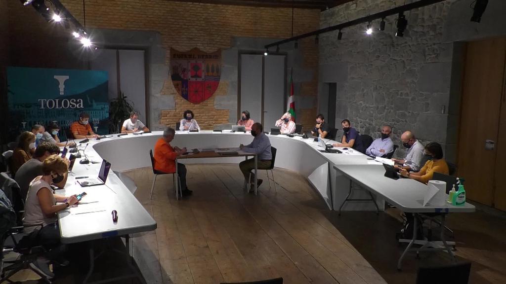 Tolosako Udalaren Osoko Bilkura 2020-09-24 web