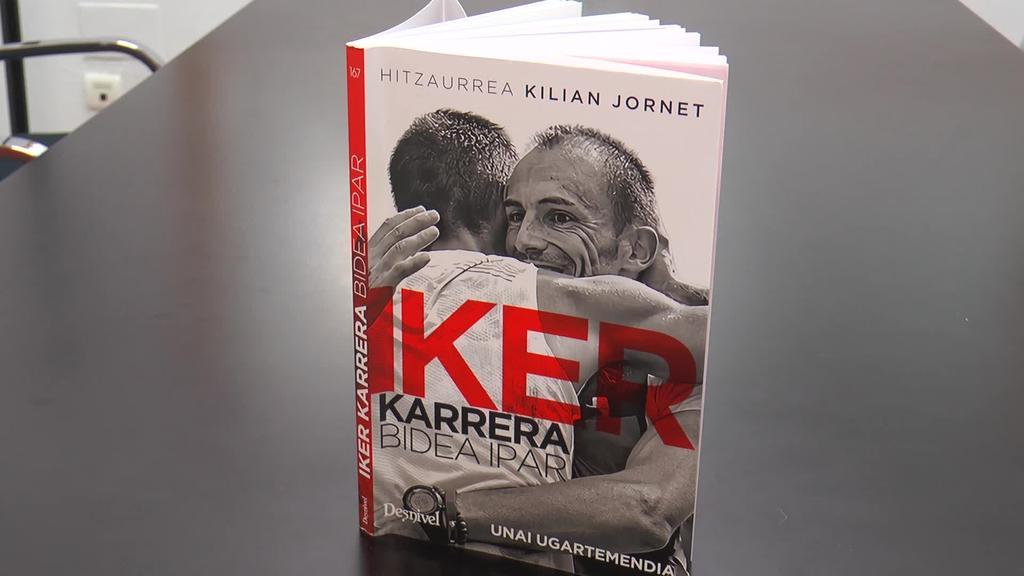 """Unai Ugartemendiak Iker Karreraren bizipenak  bildu ditu """"Bidea ipar"""" liburuan"""