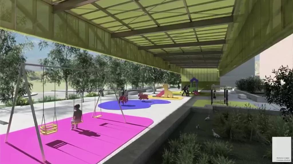 Larreako parkea estaltzeko proiektua onartu  du Hirigintza Batzordeak