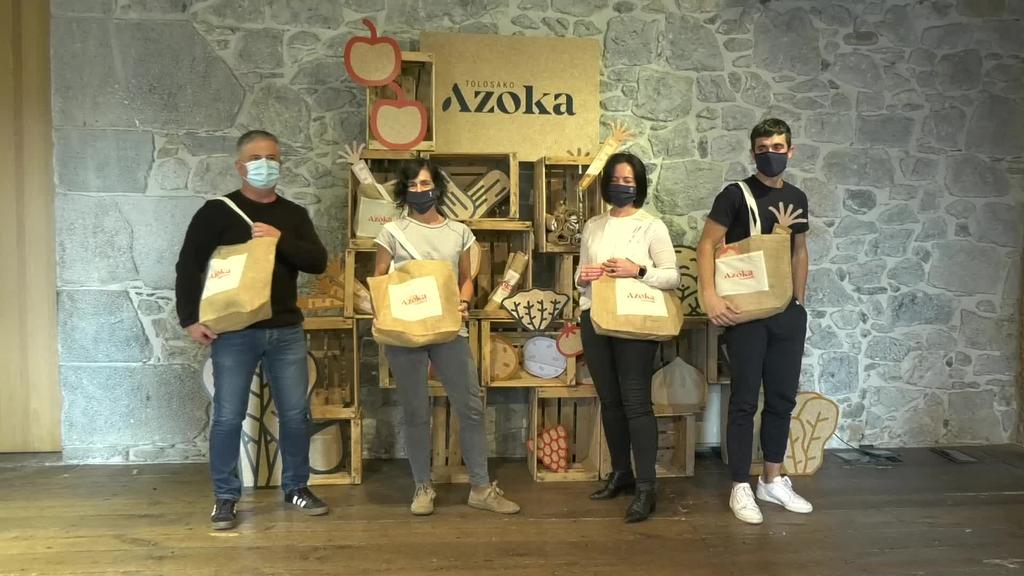 Tolosako Azoka sustatzeko irudi berria eta  Azoka Laguna egitasmoa aurkeztu dituzte