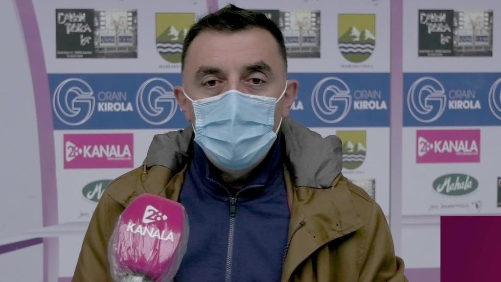 Lauburu KE-k lehen tadeko partiduak atzeratzea eskatu dio Espainiako Futbol Federazioari