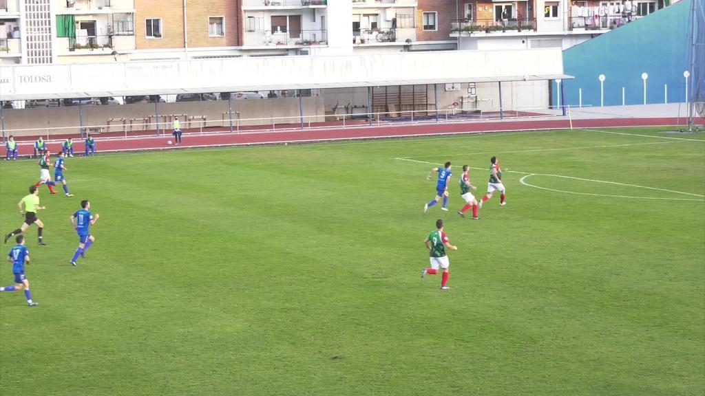 Hiru puntu balio duten lau golek eman zioten garaipena Tolosa CF-ri Urgatzi KK-ren aurkako partiduan